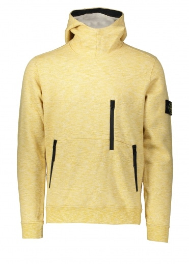 Stone Island Hooded Sweat - Mustard