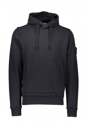Stone Island Hooded Sweatshirt - Navy Blue