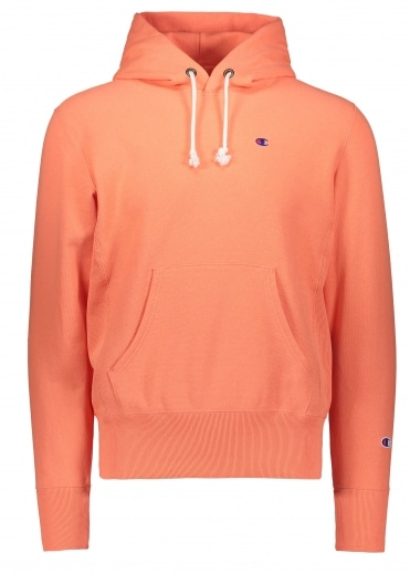 Champion Hooded Sweatshirt Orange XL