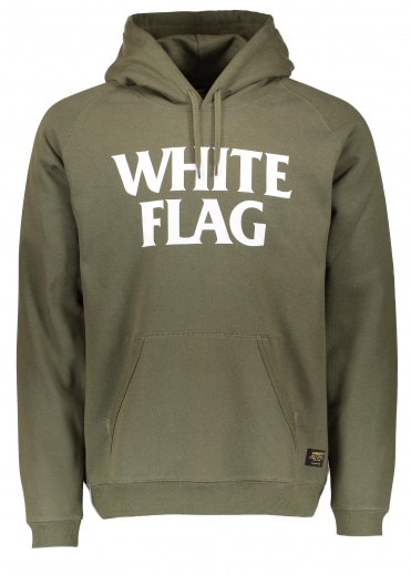 Carhartt Hooded White Flag Sweat - Rover Green