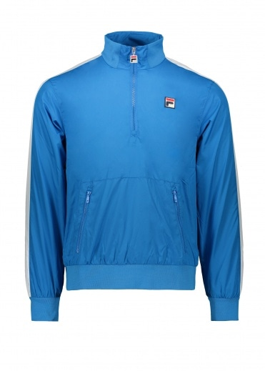 FILA Hopper 1/2 Zip Wind Jacket - Directorate Blue
