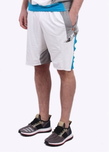 Adidas x Kolor Hybrid Shorts - Grey / White
