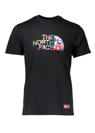 North Face IC SS Cotton Crew - Black