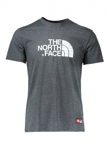 North Face IC SS Cotton Crew Tee - Dark Grey