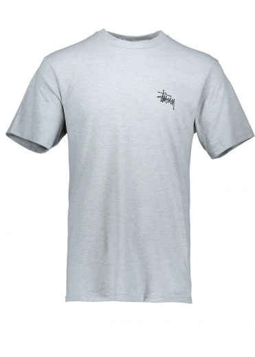 Stussy Int. Arc Tee - Grey Heather