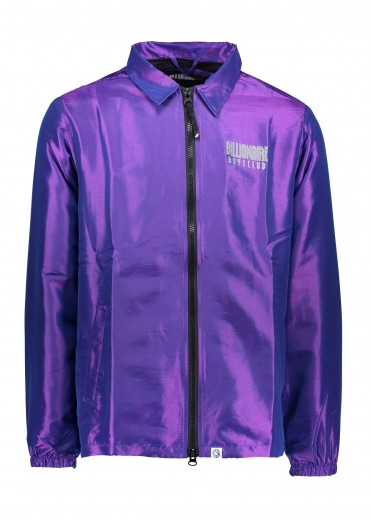 Billionaire Boys Club Iridescent Zip Jacket - Purple