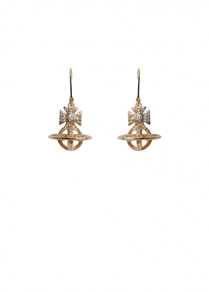Isabella Orb Earrings - Gold
