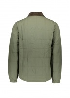 Isthmus Quilted Shirt Jacket - Industrial Green