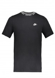 JDI Top SS Knit - Black / White