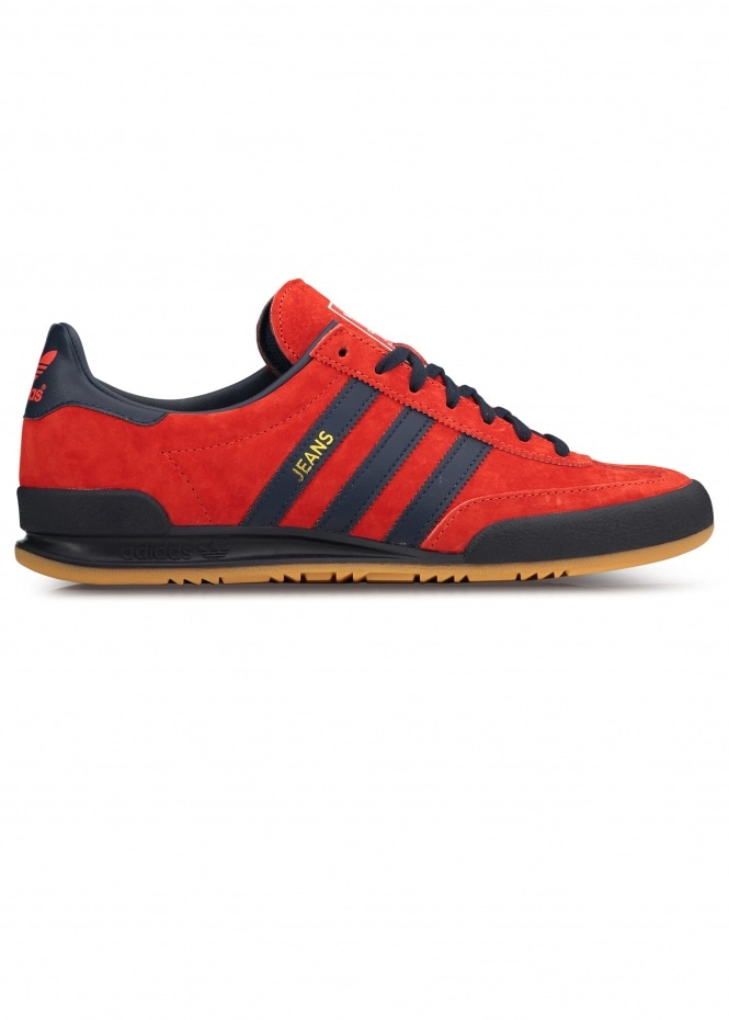 adidas Originals Footwear Jeans Trainers - Red