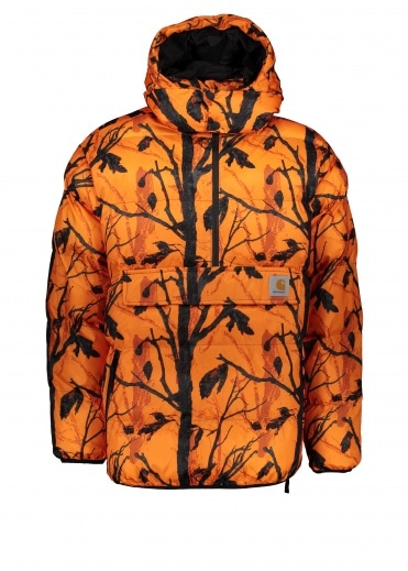 Carhartt Jones Pullover - Camo Tree / Orange