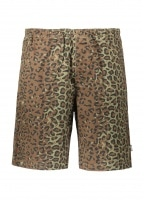 Jungle Camo Beach Short - Olive