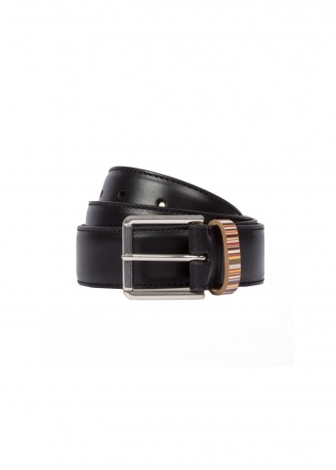 Paul Smith Keeper Belt - Black
