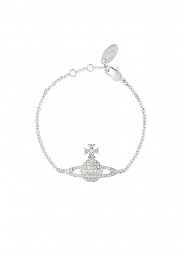 Vivienne Westwood Accessories Kika Bracelet - Rhodium