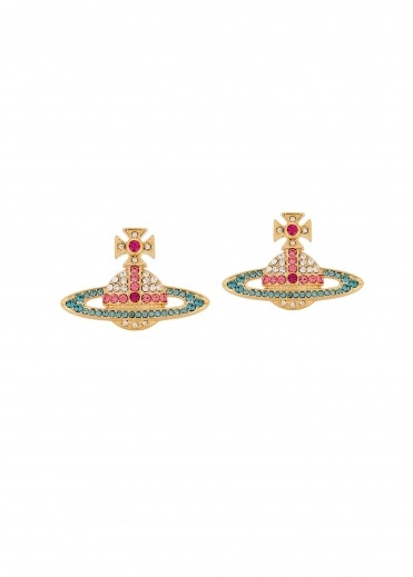 Vivienne Westwood Accessories Kika Earrings R302 - Gold / Rose