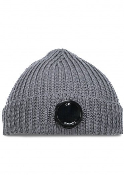C.P. Company Knit Cap - Metal Grey