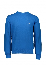 Vivienne Westwood Mens Knit Crew - Bright Blue