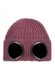 C.P. Company Knit Goggle Hat 593 - Bitter Chocolate