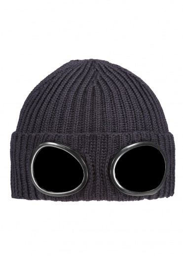 C.P. Company Knit Goggle Hat 999 - Black
