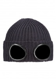 C.P. Company Knit Goggle Hat 999 - Black