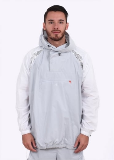 Adidas x Kolor 'Kolor Pack' Anorak Jacket - White / Grey / Purple