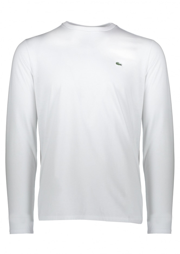 L/S Logo Tee - White