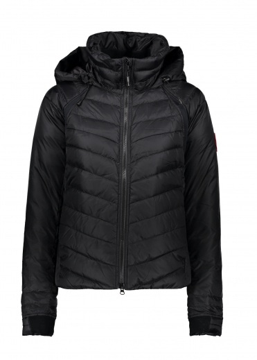 Canada Goose Ladies Hybridge Base Jacket - Black