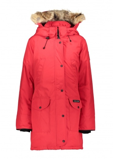 Canada Goose Ladies Trillium Parka HD - Red