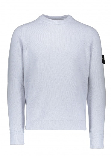 Stone Island Lambswool Knitted Jumper - Ice