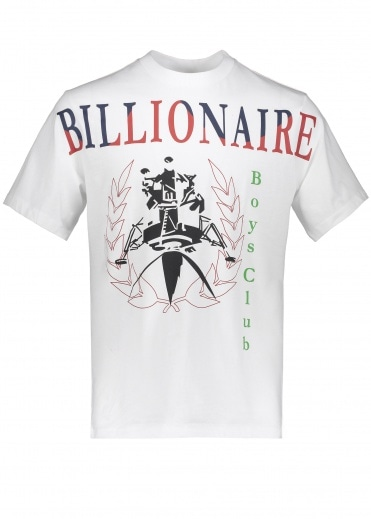 Billionaire Boys Club Lander Souvenir T-Shirt - White