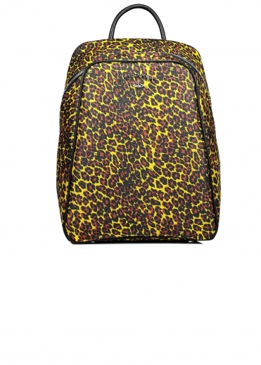 Vivienne Westwood Accessories Leopard Backpack - Yellow