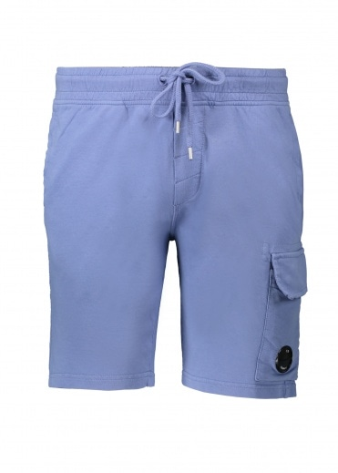 C.P. Company Light Fleece Sweatshorts - Dutch Blue