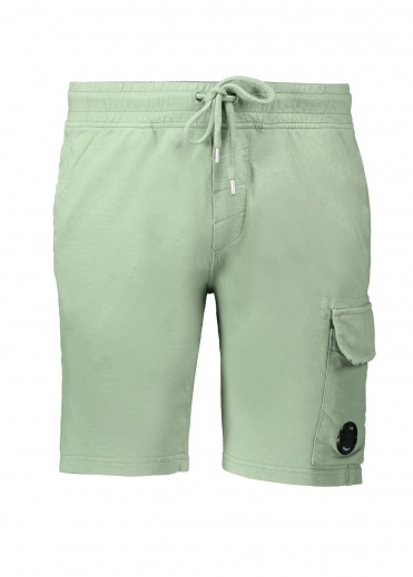 C.P. Company Light Fleece Sweatshorts - Green Bay