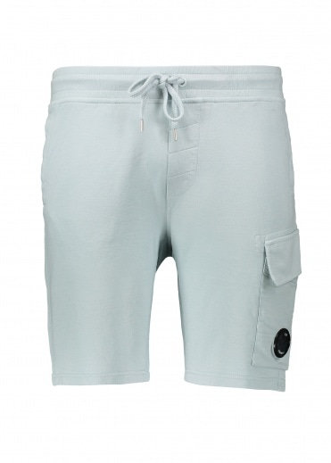 C.P. Company Light Fleece Sweatshorts - Sterling Blue