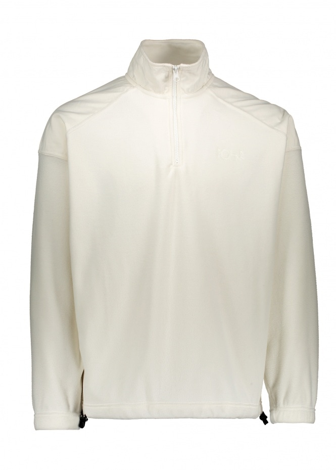 Polar Skate Co Lightweight Fleece Pullover - Ivory