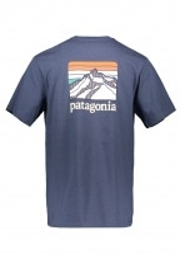 Line Logo Ridge Pocket Tee - Dolomite Blue