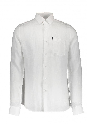 Linen 1 Tailored Shirt - White