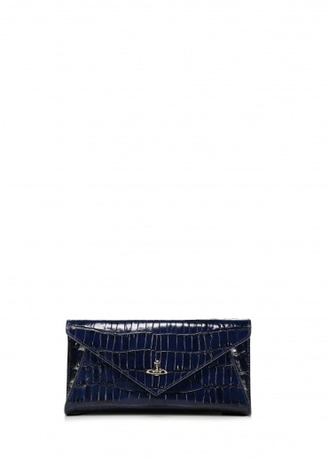 Vivienne Westwood Accessories Lisa Envelope Clutch - Blue