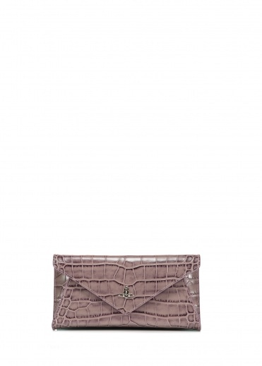 Vivienne Westwood Accessories Lisa Envelope Clutch - Pink