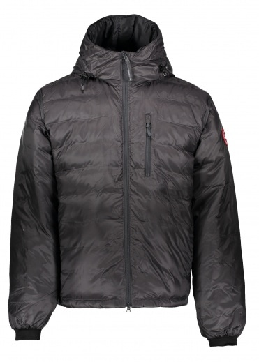 Canada Goose Lodge Hoody Jacket - Graphite / Black