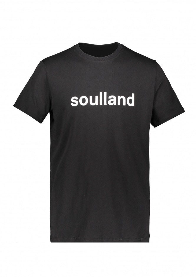 Soulland Logic Chuck Logo Tee - Black