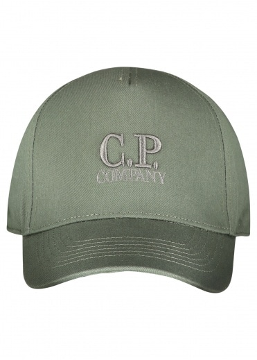 C.P. Company Logo Baseball Cap - Laurel Wreath