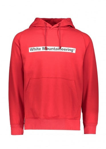 White Mountaineering  Logo Hoodie - Red
