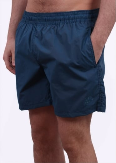 Parra Logo Summer Shorts - Mallard Green