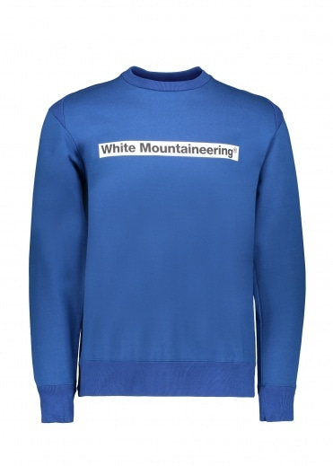 White Mountaineering  Logo Sweat - Blue
