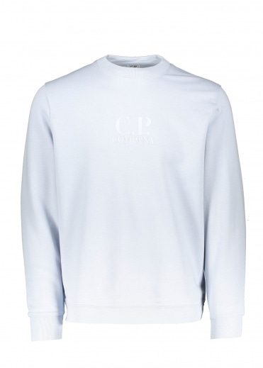 C.P. Company Logo Sweat - Halogen Blue