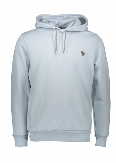 Paul Smith Long Sleeve Reg Fit Hoody Light Blue