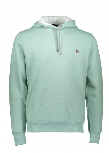 Paul Smith Long Sleeve Regular Fit Hoodie Green