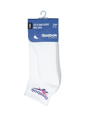 Reebok Lost & Found Socks - White