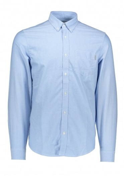 Carhartt LS Button Down Pocket Shirt  - Bleach Blue